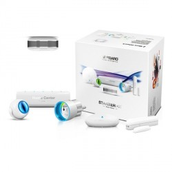 "Pack de démarrage Fibaro Home Center Lite + 5 modules ""Fibaro Starter Kit""."