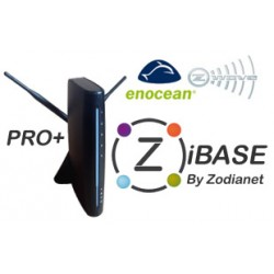 ZODIANET ZiBASE PRO+ - Box domotique Z-Wave+, EnOcean, RF433, RF868