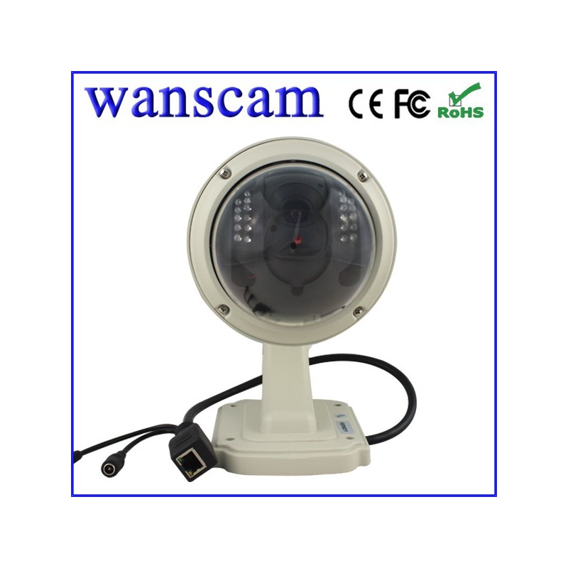 Jw0010 cam ra ip dome ext rieur motoris e wifi vga avec - Camera dome exterieur ...