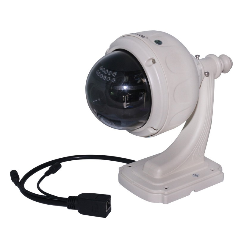 camera dome motorisee exterieur awesome camera dome motorise mp avec zoom x et vision nocturne. Black Bedroom Furniture Sets. Home Design Ideas