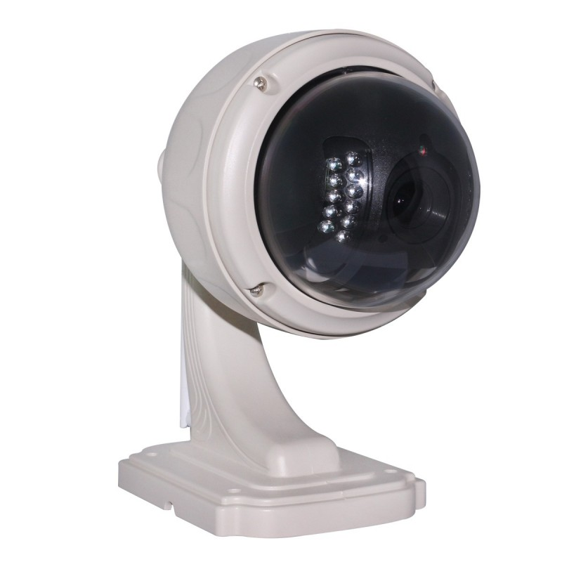Hw0038 cam ra ip dome ext rieur motoris e wifi hd 720p for Camera exterieur wifi