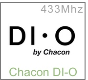 Compatible avec les modules DI-O de Chacon
