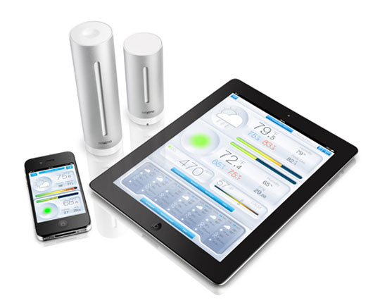 netatmo station m t o wifi compatible iphone ipad android. Black Bedroom Furniture Sets. Home Design Ideas