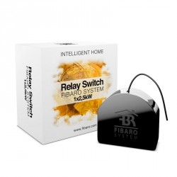 Fibaro FGS-212 Switch 2,5kW - Micromodule Z-Wave interrupteur simple On/Off contact sec