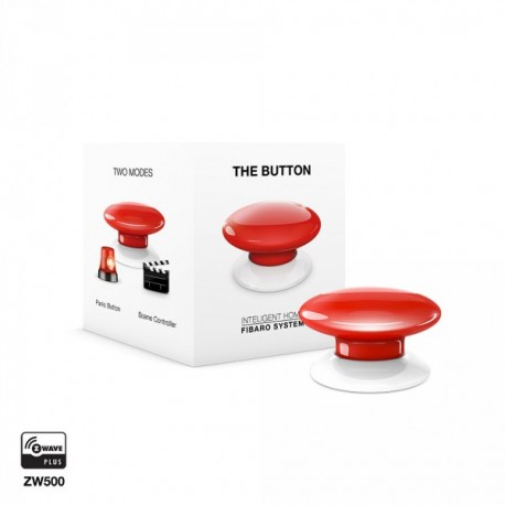 "Fibaro FGPB-101 ""Button"" - Bouton de commande Z-Wave+"