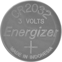 Pile lithium 3V CR2032 Energizer - Compatible alarme AJAX et modules domotiques (Chacon DiO, Nodon, etc.)