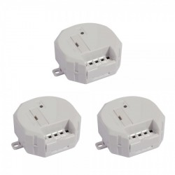 CHACON DIO CH54751 - Pack de 3 micro-modules volet roulant 230V / 24V (CH54754)