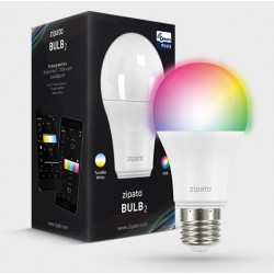 "Zipato ""BULB 2"" Ampoule LED E27 RVB Z-Wave Plus - ZIP-RGBW2-EU"