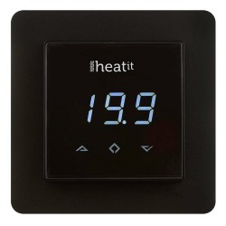 Thermostat Z-Wave Heatit noir - THERMOFLOOR