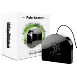 "Fibaro FGR-222 ""Roller Shutter 2"" - Micromodule Z‑Wave pour volet roulant ou store filaires"
