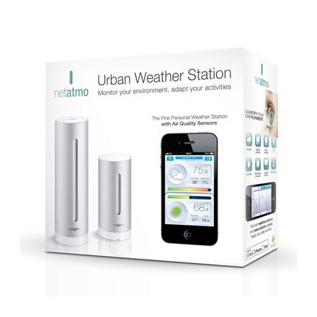 Netatmo - Station météo wifi compatible iPhone/iPad/Android