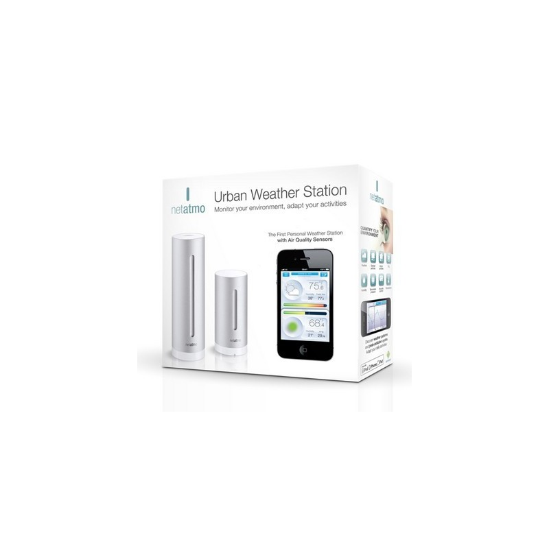Netatmo station m t o wifi compatible iphone ipad android - Netatmo station meteo ...