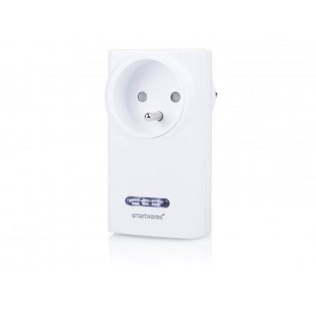 SmartWares SH5-RPS-36A/FR - Prise ON/OFF 3600W (compatible Chacon DiO 54785 MyFox TA3004)