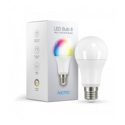 "Aeotec ZWA002 LED Bulb 6 ""Multi‑Colour"" - Ampoule E27 RGB Z‑Wave+"