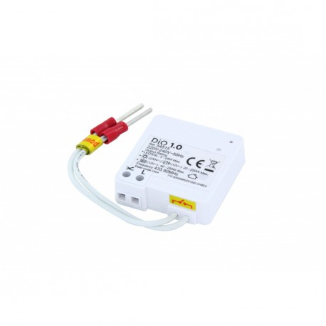 CHACON DiO 54515 - Micromodule ultra-plat ON/OFF 200W sans neutre