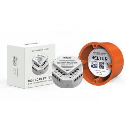 Heltun HE-HLS01 - Micromodule Z-Wave + (série 700) Interrupteur forte charge 16A On/Off