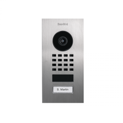 DoorBird D1101V - Version encastrable - Portier interphone vidéo connecté WiFi