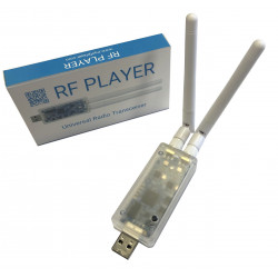 GCE Electronics RFPlayer USB - Interface émetteur / récepteur RF433 et RF868 compatible Somfy RTS, Chacon DiO 1.0, X2D, etc.