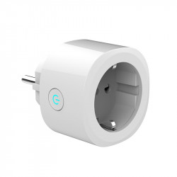 "Hank HKZW-SO08 ""Smart Plug"" - Prise ON/OFF Z-Wave+ 10A avec mesure de consommation (format Schuko)"