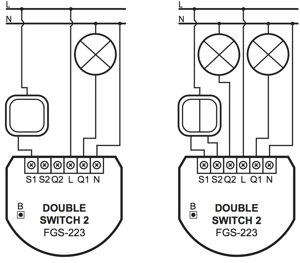 wiring a switch with 668 Fibaro Fgs 223 Double Switch 2 Micromodule Interrupteur Double On Off Z Wave Avec Mesure De Consommation on Honda Grom Msx 125 Service Manual Pdf additionally 864401 Pickup Wiring Has Me  pletely Stumped as well Electrical Wiring Diagram Of 1976 Honda Cb125s in addition 1955 Buick Signal System also US6747367.