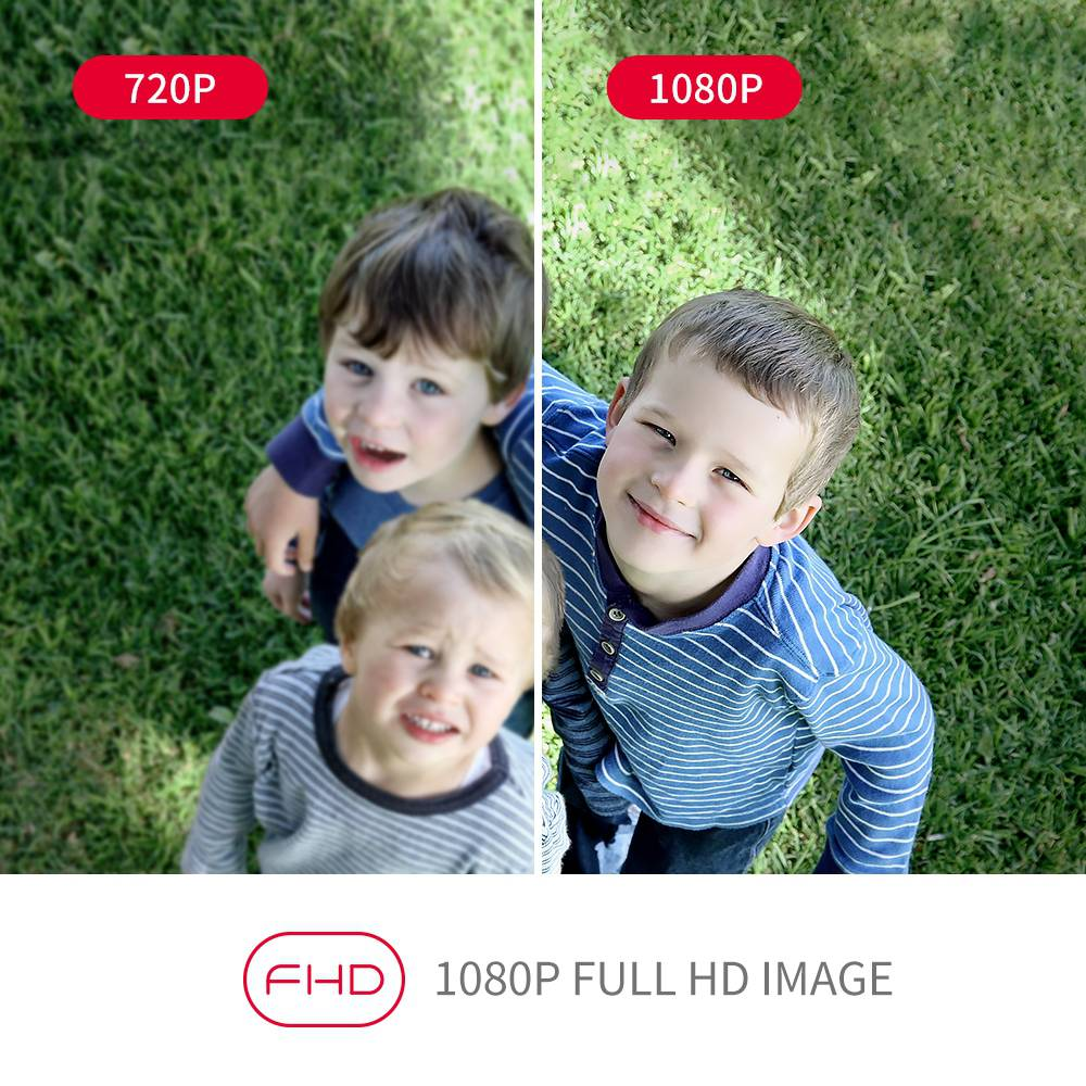 Comparatif VGA vs HD 1080P