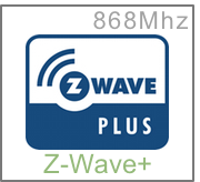 Technologie domotique sans-fil Z-Wave+ à 868Mhz