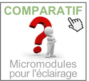 Comparatif de micro-modules pour l'éclairage (variateurs et on/off)