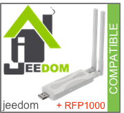 Compatible Jeedom + RFP1000