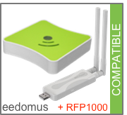 Compatible eedomus + RFP1000