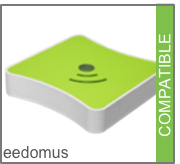 Compatible avec la box domotique Z-Wave (Zwave) eedomus de connected object